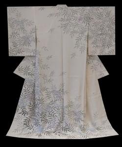 kaga-yuzen KIMONO, HOUMON-GI